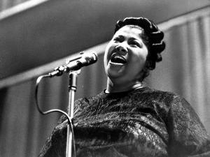 Mahalia Jackson singing in Classic by Movie Star News