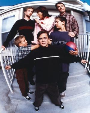 Malcolm In The Middle Family Picture Portrait by Movie Star News