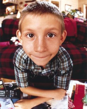 Malcolm In The Middle in Checkered Polo Close up Portrait by Movie Star News