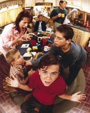 Malcolm In The Middle Posed in Portrait by Movie Star News