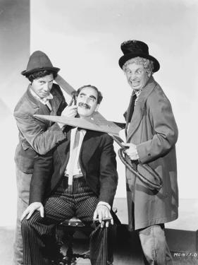 Marx Brothers Acting in Classic Portrait by Movie Star News