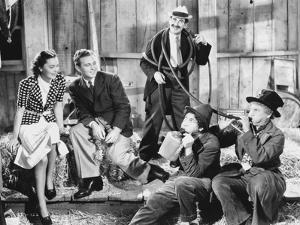 Marx Brothers in Movie Scene by Movie Star News