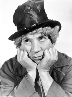 Marx Brothers Portrait of a Man wearing a Magician Hat by Movie Star News