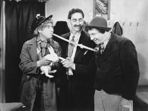 Marx Brothers Scene with a Man Holding a Rabbit by Movie Star News