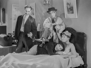 Marx Brothers sitting in Classic Portrait by Movie Star News