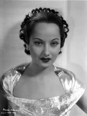 Merle Oberon on a Silk Top by Movie Star News