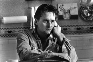 Michael Douglas Talking on Phone by Movie Star News