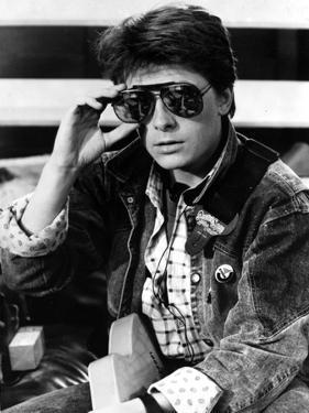 Michael J Fox in Jacket With Sunglasses by Movie Star News