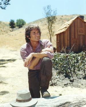 Michael Landon posed in Portrait by Movie Star News