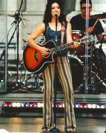 Michelle Branch Performing on Stage by Movie Star News