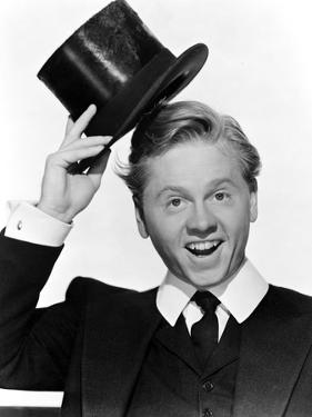 Mickey Rooney in posed in Portrait by Movie Star News