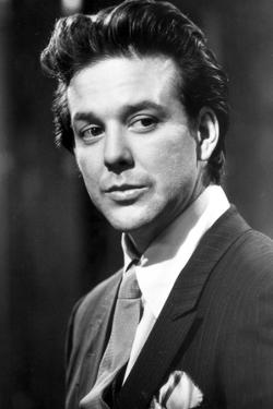 Mickey Rourke Portrait in Black and White by Movie Star News
