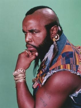 Mister T Serious Face Portrait by Movie Star News