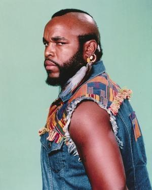 Mister T Side View Serious Pose Portrait by Movie Star News