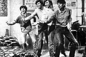 Monkees smiling in Black and White by Movie Star News