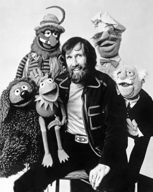 Muppets Group Picture Black and White Portrait by Movie Star News