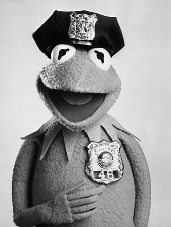 Muppets in Police Outfit Portrait by Movie Star News