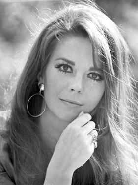 Natalie Wood Portrait in Classic with Earrings by Movie Star News