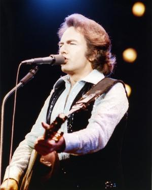 Neil Diamond singing Playing Guitar by Movie Star News