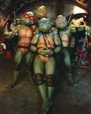 Ninja Turtles Group Picture by Movie Star News