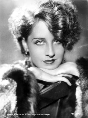Norma Shearer Leaning Chin On Hand in Classic by Movie Star News