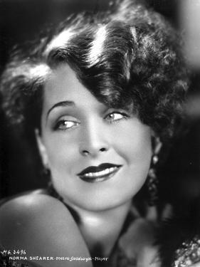 Norma Shearer Portrait in Classic with Earrings by Movie Star News
