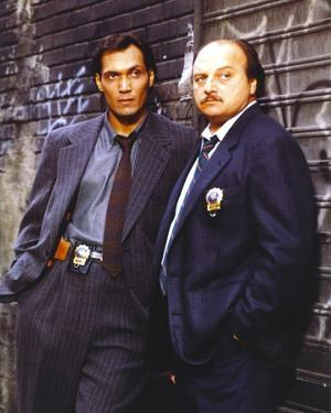 NYPD Blue standing Posed in Tuxedo with Badge by Movie Star News