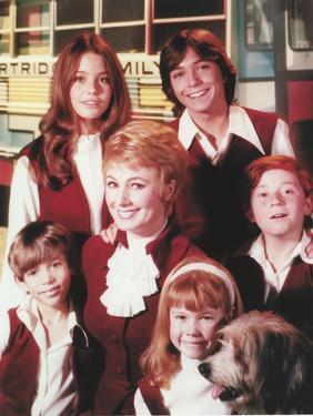 Partridge Family Portrait in School Uniform by Movie Star News