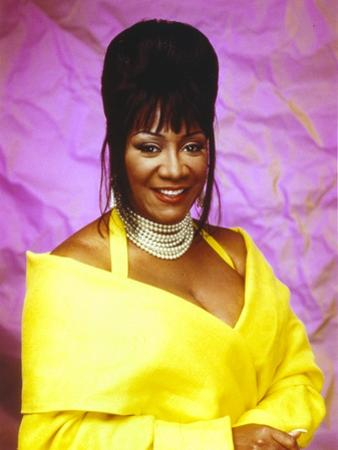 Patti LaBelle Posed in Yellow Gown by Movie Star News