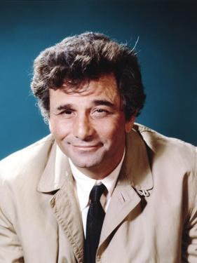 Peter Falk smiling in Formal Outfit by Movie Star News