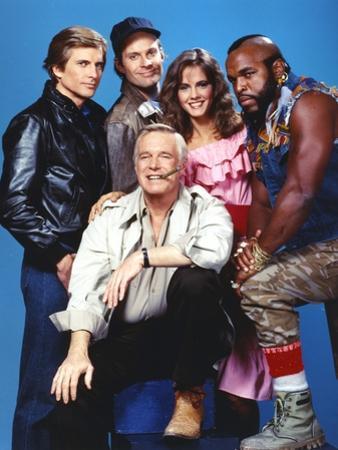 Portrait of A-Team Movie Cast by Movie Star News