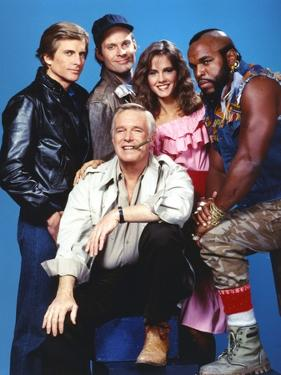 Portrait of A-Team Movie Cast by Movie Star News