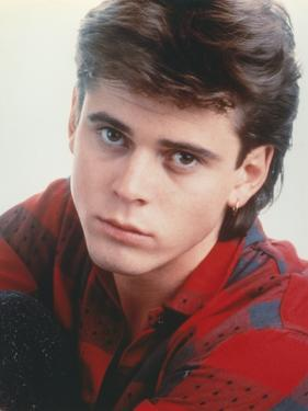 Portrait of Thomas Howell in Red Checkered Shirt by Movie Star News