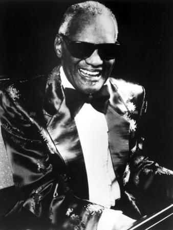 Ray Charles in Glossy Suit With Shades