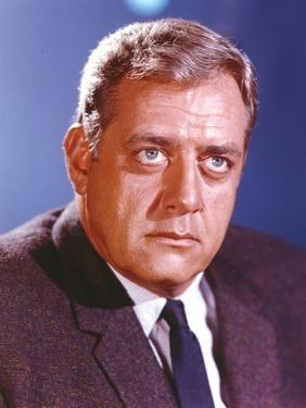 Raymond Burr in Tuxedo Close Up Portrait by Movie Star News