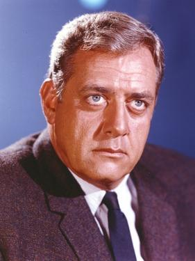 Raymond Burr in Tuxedo Close Up Portrait by Movie Star News