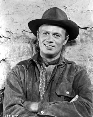 Richard Widmark posed in Classic Portrait by Movie Star News