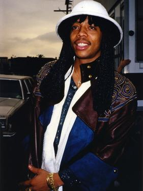 Rick James Close Up Portrait by Movie Star News