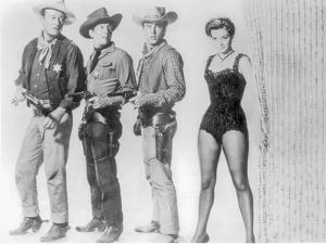 Rio Bravo Group Picture in Black and White by Movie Star News