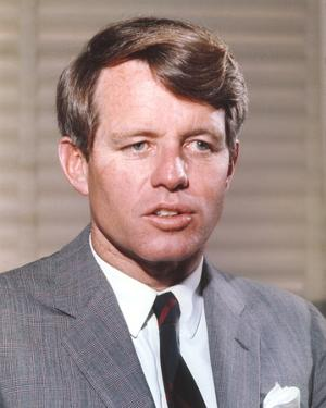 Robert Kennedy Close Up Portrait by Movie Star News