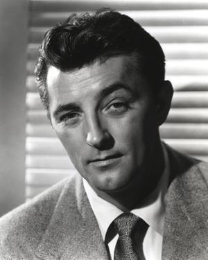 Robert Mitchum Posed in Coat and Tie by Movie Star News