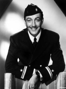 Robert Taylor in Navy Uniform by Movie Star News