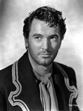 Rock Hudson Posed in Designed Suit Portrait by Movie Star News