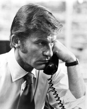 Roddy McDowell Answering Telephone in Classic Portrait by Movie Star News