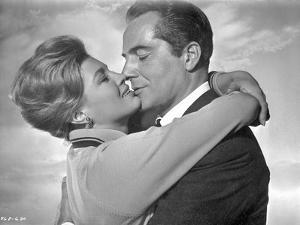Rome Adventure Classic Kissing Scene by Movie Star News