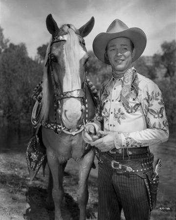 Roy Rogers Posed in Cowboy Outfit by Movie Star News