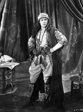Rudolph Valentino standing with Hand on Hips by Movie Star News