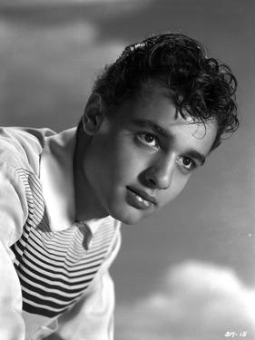 Sal Mineo in Black Suit by Movie Star News