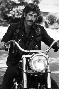Sam Elliott Riding Motorcycle Portrait by Movie Star News