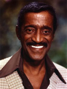 Sammy Jr Davis smiling Close Up Portrait by Movie Star News